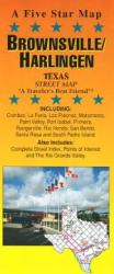 Buy map Brownsville and Harlingen, Texas by Five Star Maps, Inc. from Texas Maps Store