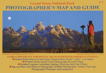 Buy map Grand Teton National Park, Wyoming, Photographers Map by Earthwalk Press from Wyoming Maps Store