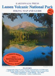 Buy map Lassen Volcanic National Park, California, waterproof by Earthwalk Press from California Maps Store