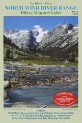 Buy map Wind River Range, Wyoming, Northern, waterproof by Earthwalk Press from Wyoming Maps Store
