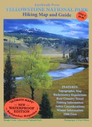 Buy map Yellowstone National Park, Wyoming and Montana, waterproof by Earthwalk Press from United States Maps Store
