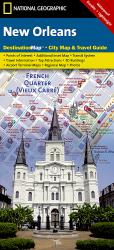 Buy map New Orleans, Louisiana DestinationMap by National Geographic Maps in Louisiana Map Store