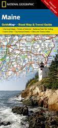 Buy map Maine GuideMap by National Geographic Maps