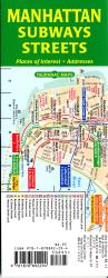 Buy map Manhattan Subways and Streets by Tauranac Press from New York Maps Store