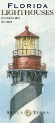 Buy map Florida Lighthouses Map by Bella Terra Publishing LLC from Florida Maps Store