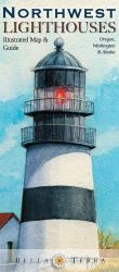 Buy map Northwest Lighthouses Map by Bella Terra Publishing LLC from United States Maps Store