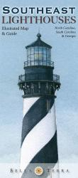Buy map Southeast Lighthouses Map by Bella Terra Publishing LLC from United States Maps Store