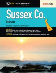 Buy map Sussex County, Delaware, Atlas by Kappa Map Group
