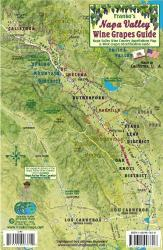 Buy map California Map, Napa Grapes Card 2011 by Frankos Maps Ltd. from California Maps Store