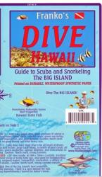 Buy map Hawaii Map, Big Island Dive, laminated, 2011 by Frankos Maps Ltd. from Hawaii Maps Store