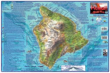 Buy map Hawaii Map, Big Island Guide, laminated, May 2007 by Frankos Maps Ltd.