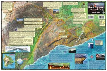 Buy map Hawaii Map, Hawaii Volcanoes, laminated, 2009 by Frankos Maps Ltd. from Hawaii Maps Store
