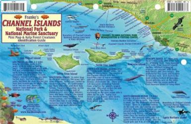 Buy map California Fish Card, Channel Islands 2011 by Frankos Maps Ltd.