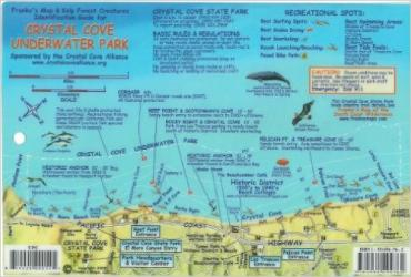 Buy map California Fish Card, Crystal Cove 2009 by Frankos Maps Ltd. from California Maps Store