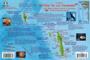 Buy map California Fish Card, Coronado Islands 2007 by Frankos Maps Ltd.
