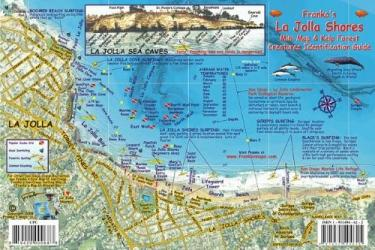 Buy map California Fish Card, La Jolla Shores 2008 by Frankos Maps Ltd. from California Maps Store