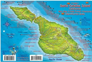 Buy map California Fish Card, Santa Catalina Island 2008 by Frankos Maps Ltd. from California Maps Store
