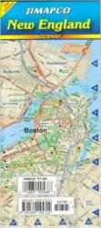 Buy map New England, Quickmap by Jimapco from United States Maps Store