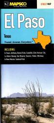 Buy map El Paso, Texas by Kappa Map Group