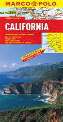 Buy map California by Marco Polo Travel Publishing Ltd from United States Maps Store