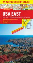 Buy map United States, Eastern and Great Lakes by Marco Polo Travel Publishing Ltd from United States Maps Store