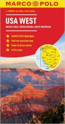 Buy map United States, Western by Marco Polo Travel Publishing Ltd from United States Maps Store