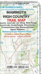 Buy map Mammoth High Country by Tom Harrison Maps