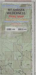 Buy map Mount Shasta Wilderness Trail Map by Tom Harrison Maps