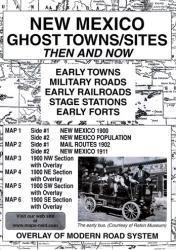 Buy map New Mexico, Ghost Towns, 5-Map Set, Then and Now by Northwest Distributors from New Mexico Maps Store