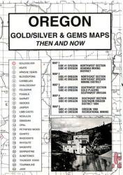 Buy map Oregon, Gold and Gems, 5-Map Set, Then and Now by Northwest Distributors from Arizona Maps Store