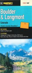 Buy map Boulder and Longmont, Colorado by Kappa Map Group from Colorado Maps Store