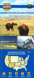 Buy map Dakotas, Eastern Montana, Eastern Wyoming, Northwest Nebraska, Regional Scenic Tours by MAD Maps from United States Maps Store