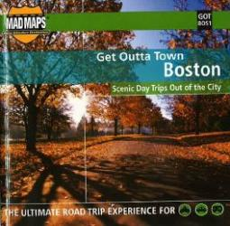 Buy map Boston, Massachusetts, Get Outta Town by MAD Maps from Massachusetts Maps Store