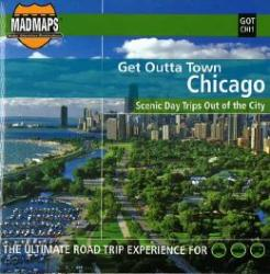 Buy map Chicago, Illinois, Get Outta Town by MAD Maps from Illinois Maps Store