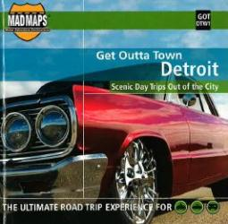 Buy map Detroit, Michigan, Get Outta Town by MAD Maps from United States Maps Store
