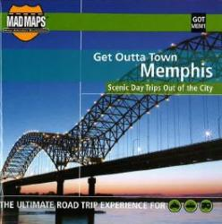 Buy map Memphis, Tennessee, Get Outta Town by MAD Maps from Tennessee Maps Store