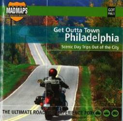 Buy map Philadelphia, Pennsylvania, Get Outta Town by MAD Maps