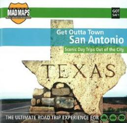 Buy map San Antonio, Texas, Get Outta Town by MAD Maps