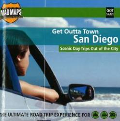 Buy map San Diego, California, Get Outta Town by MAD Maps from California Maps Store