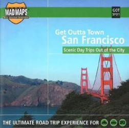 Buy map San Francisco, California, Get Outta Town by MAD Maps