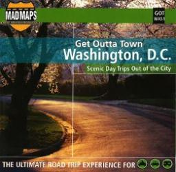 Buy map Washington, DC, Get Outta Town by MAD Maps from District of Columbia Maps Store