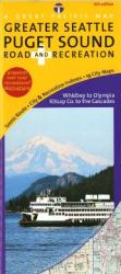 Buy map Puget Sound, Road & Recreation by Great Pacific Recreation & Travel Maps from Washington Maps Store
