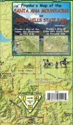 Buy map Santa Ana Mountains/ Chino Hills St Park, California by Frankos Maps Ltd. from California Maps Store