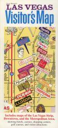Buy map Las Vegas, Nevada, Visitors Map by Carol Mendel