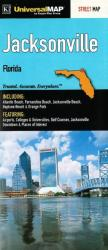 Buy map Jacksonville, Florida by Kappa Map Group from Florida Maps Store