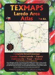 Buy map Laredo, Texas Area Atlas by Texmaps from United States Maps Store