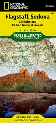 Buy map Flagstaff, Sedona, Coconino and Kaibab National Forests, Map 856 by National Geographic Maps from Arizona Maps Store