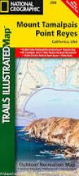 Buy map Mount Tamalpais and Point Reyes, Map 266 by National Geographic Maps from California Maps Store