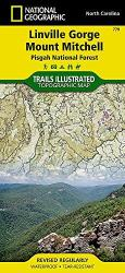 Buy map Linville Gorge, Mount Mitchell and Pisgah National Forest by National Geographic Maps from North Carolina Maps Store
