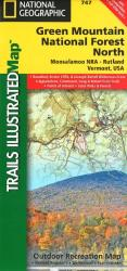 Buy map Green Mountains Natl Forest, Moosalamoo NRA-Rutland,  Map 747 by National Geographic Maps from Vermont Maps Store